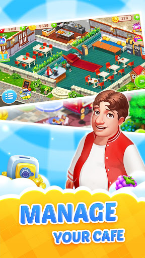 Dream Cafe: Cafescapes - Match 3