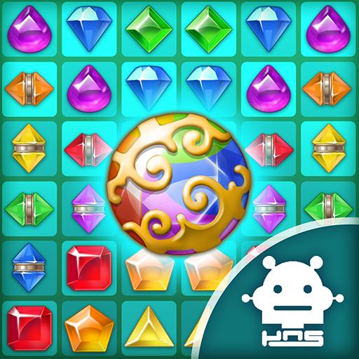 天堂宝石: 3件匹配益智游戏
