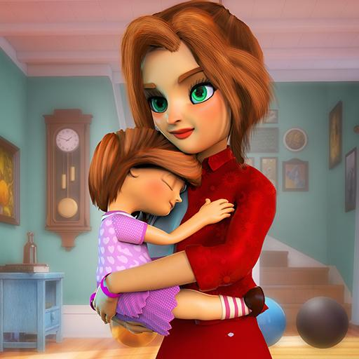 Virtual Mother Working Mom Family Simulator
