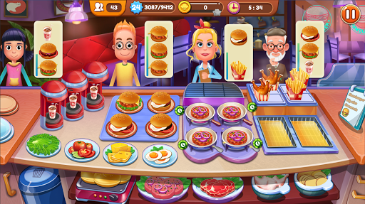 Cooking Chef Fever: Craze for Cooking Game