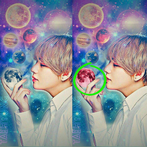 BTS - Find the Differences