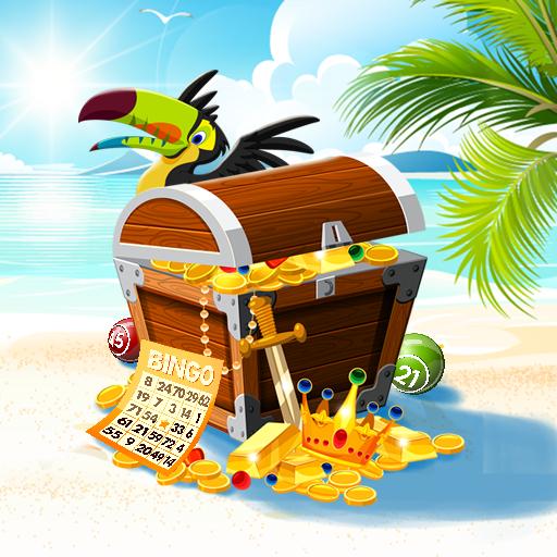 Bingo Treasure Quest - Paradise Island Riches