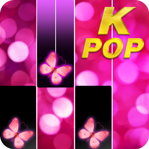Pink Piano Music Tiles: KPOP
