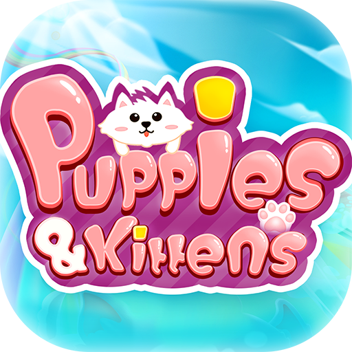 Puppies & Kittens - Line Puzzle Game