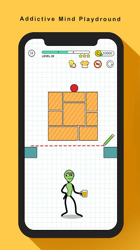 画笔外星人-虚拟宠物与解密小游戏