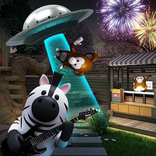 密室逃脱:夏日夜晚的公园和UFO