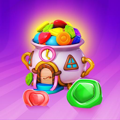 冰激凌挑战——糖果和棒棒糖三消游戏